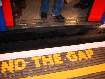 s-Mind the gap
