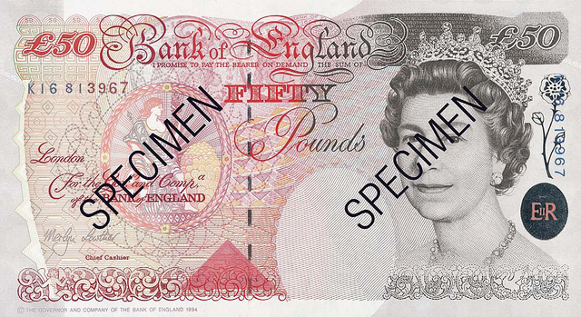 50 note front