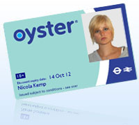 18+ Student Oyster photocard